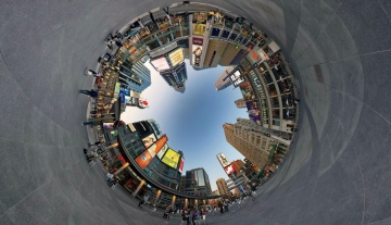 Как создаются сферические панорамы в формате 3D